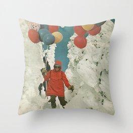 Celebrating winter Throw Pillow