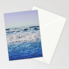 Indigo Waves Stationery Cards