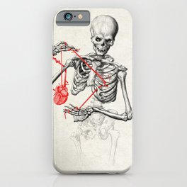 I need a heart to feel complete iPhone Case