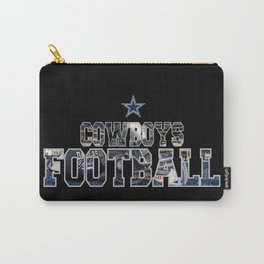Football Cowboys Carry-All Pouch