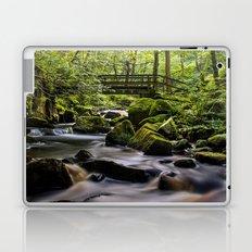 Bridge at Padley Gorge Laptop & iPad Skin