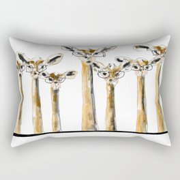 Hipster Gerenuk Rectangular Pillow