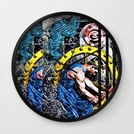 'Company Man' Satirical Portrait by Jeanpaul Ferro Wall Clock