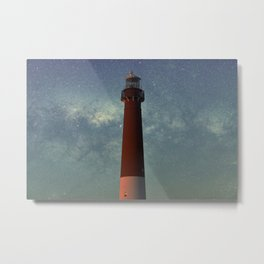 Barnegat Lighthouse State Park in New Jersey Metal Print