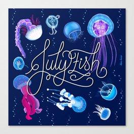 Julyfish Canvas Print