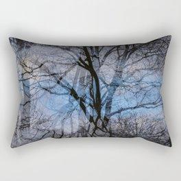 Abstract tress Rectangular Pillow