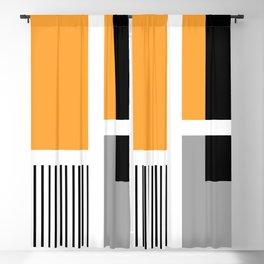 Modern geometric design Blackout Curtain