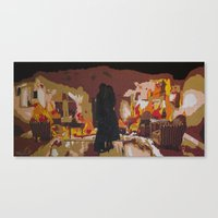 john mayer Canvas Prints featuring Slow Dancing in a Burning Room - John Mayer by Max Freund