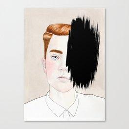 Hiding #3 Canvas Print