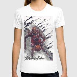 basketball player art 17 T-shirt