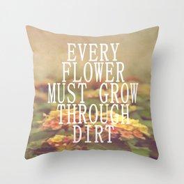 Every Flower Throw Pillow