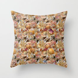 She Sells Throw Pillow