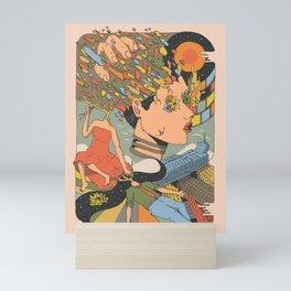 A Shattered Mind Mini Art Print