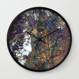 The Secret Lives of Trees VI Wall Clock