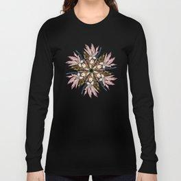 Flemish Floral Mandala Long Sleeve T-shirt