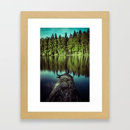 Tweezers Framed Art Print