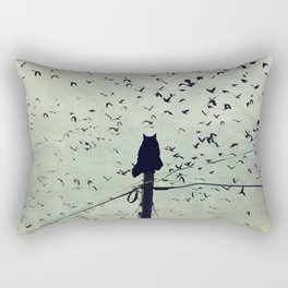 The Dreamer Rectangular Pillow