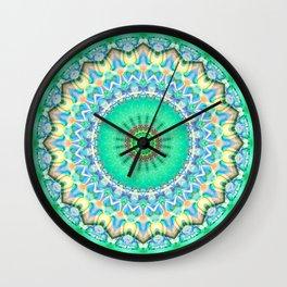 Mandala Spring  Wall Clock