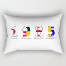 1985 - NAVY - My Year of Birth Rectangular Pillow