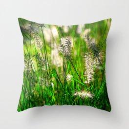 Grass (1) Throw Pillow