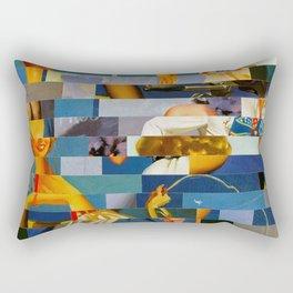 Shiver Me Ikea Timbers (Provenance Series) Rectangular Pillow