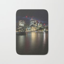 London by Night 2.0 Bath Mat