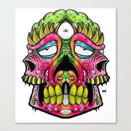 pinky stinky Canvas Print