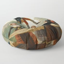 "Francisco Goya ""The Straw Manikin - The puppet"" Floor Pillow"