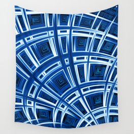 Plaid Splash - Fractal Art Wall Tapestry