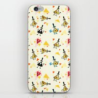 bill cipher iPhone & iPod Skins featuring Bill cipher by ChibiGaia