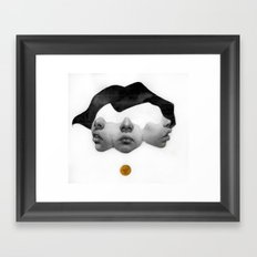 I want you so much closer  Framed Art Print