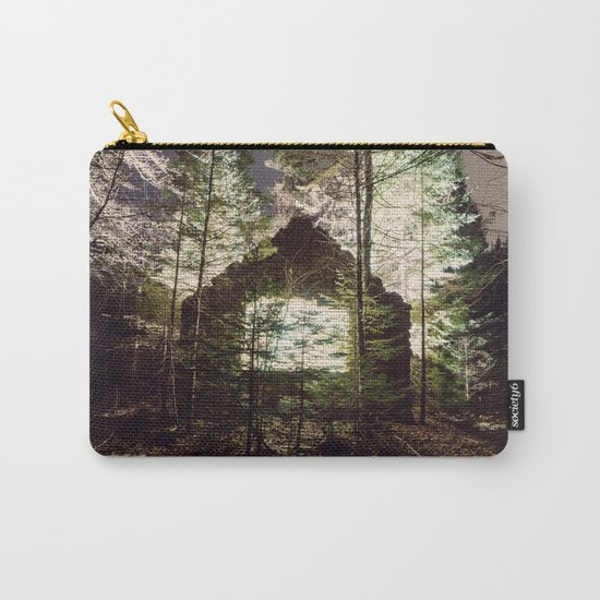 Light in the Forest Carry-All Pouch