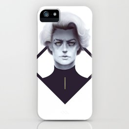 Gold and Gloom iPhone Case