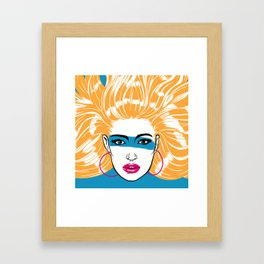 Summer Blonde '82 Framed Art Print