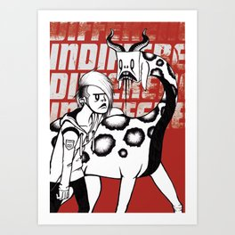 U&I Art Print