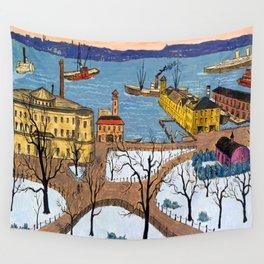 Glenn Coleman Battery Park Wall Tapestry