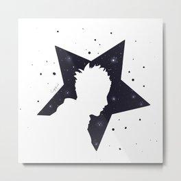 Star Man (Silhouette) Metal Print