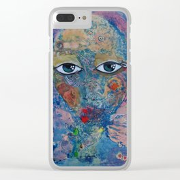 Dreaming about the sea Clear iPhone Case