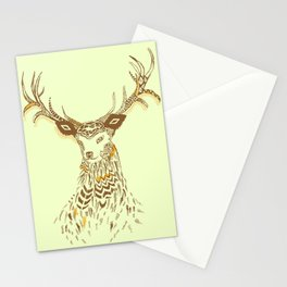 Tribal Deer Stationery Cards