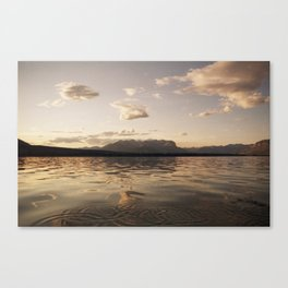 Talbot Lake Canvas Print