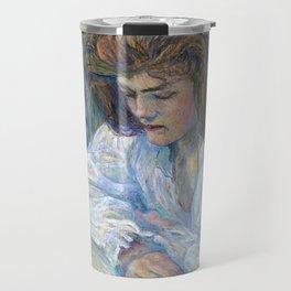 "Henri de Toulouse-Lautrec ""The Reader (La Liseuse)"" Travel Mug"