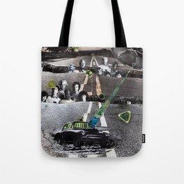 Strange Angels 2 | Collage Tote Bag