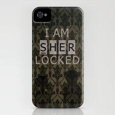Sherlocked iPhone (4, 4s) Slim Case