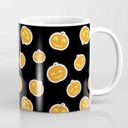 Cute Pumpkins Pattern Coffee Mug