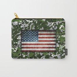 Jungle Multicam Flag Camo Carry-All Pouch