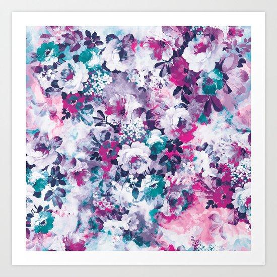 Beautiful Garden II Art Print