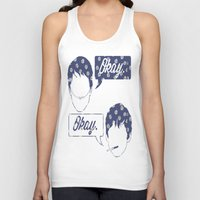 tfios Tank Tops featuring OKAY?OKAY THE FAULT IN OUR STARS TFIOS HAZEL AUGUSTUS CLOUDS SPEECH BUBBLES by monalisacried