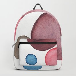 Color Sphere Circle Watercolor Backpack