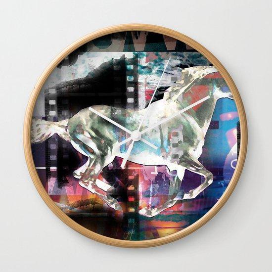 horse 02 Wall Clock