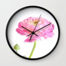Perfectly Pink Wall Clock